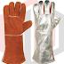 MH Export Import Aluminum Kevlar Gloves Heat Resistant