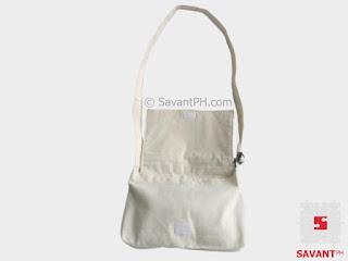 Canvas Messenger Bag (Open)