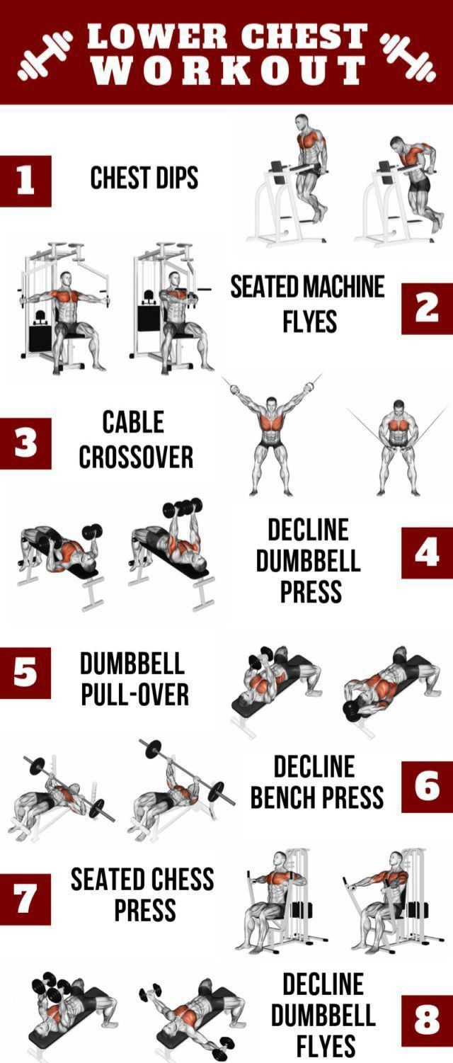 8 Lower Chest Workouts