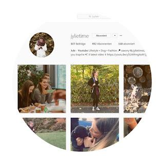 screenshot jylie time auf instagram labrador