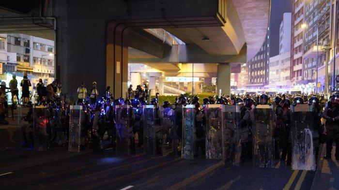 Kerusuhan Besar Kembali Terjadi Di Hongkong