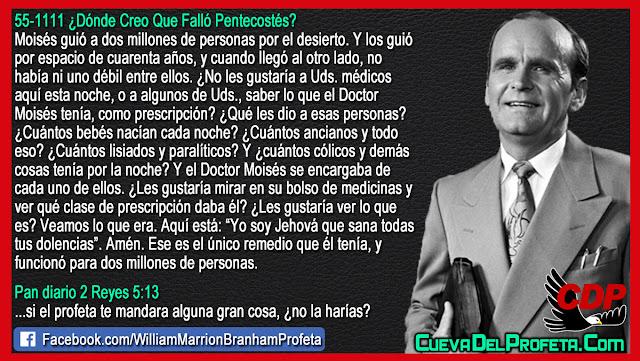 El Doctor Moisés y 2 millones de personas - Citas William Branham Mensajes