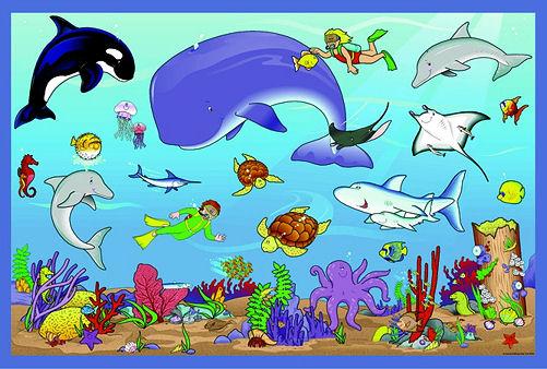 free clip art marine animals - photo #39