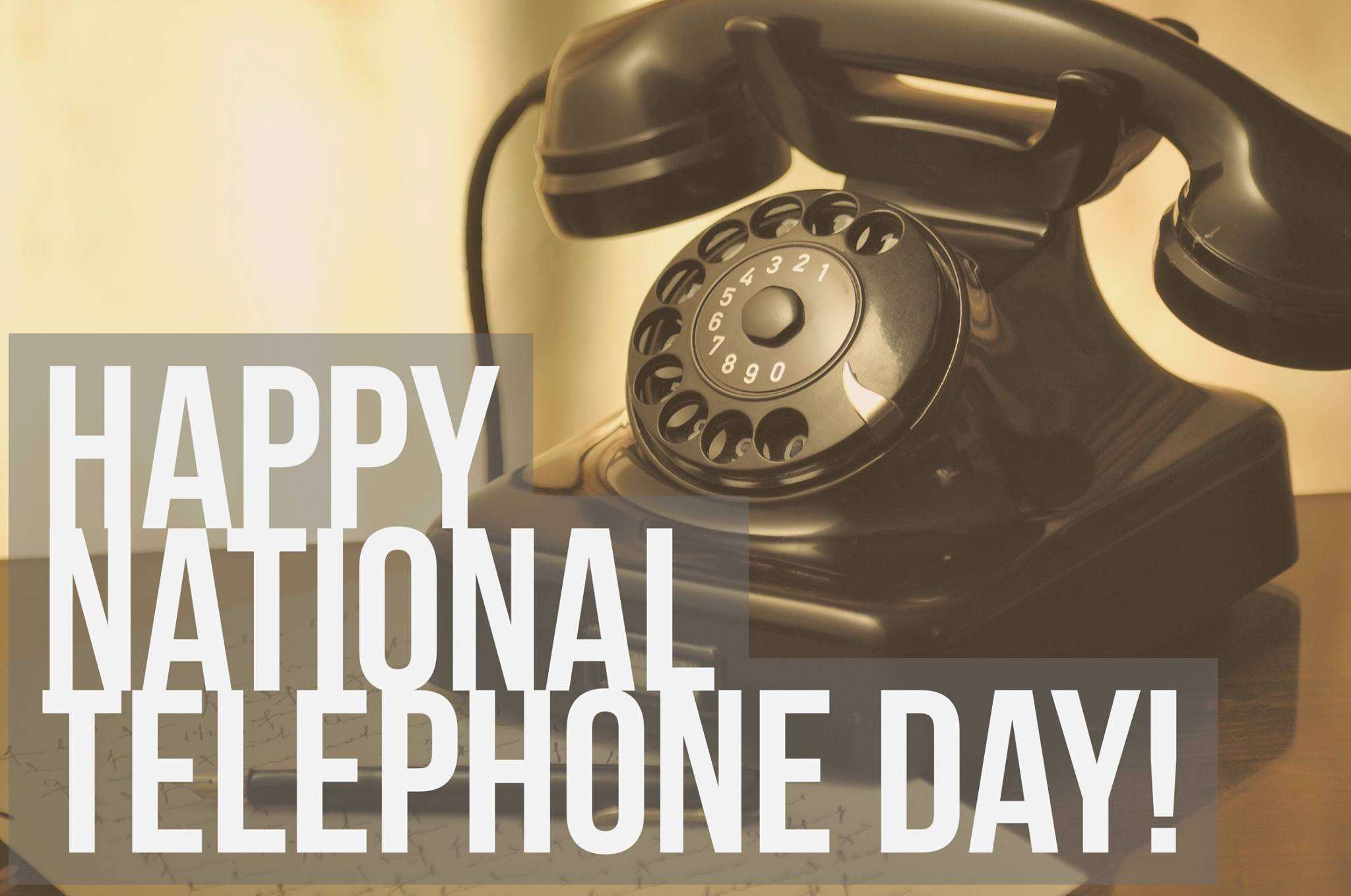 National Telephone Day Wishes pics free download
