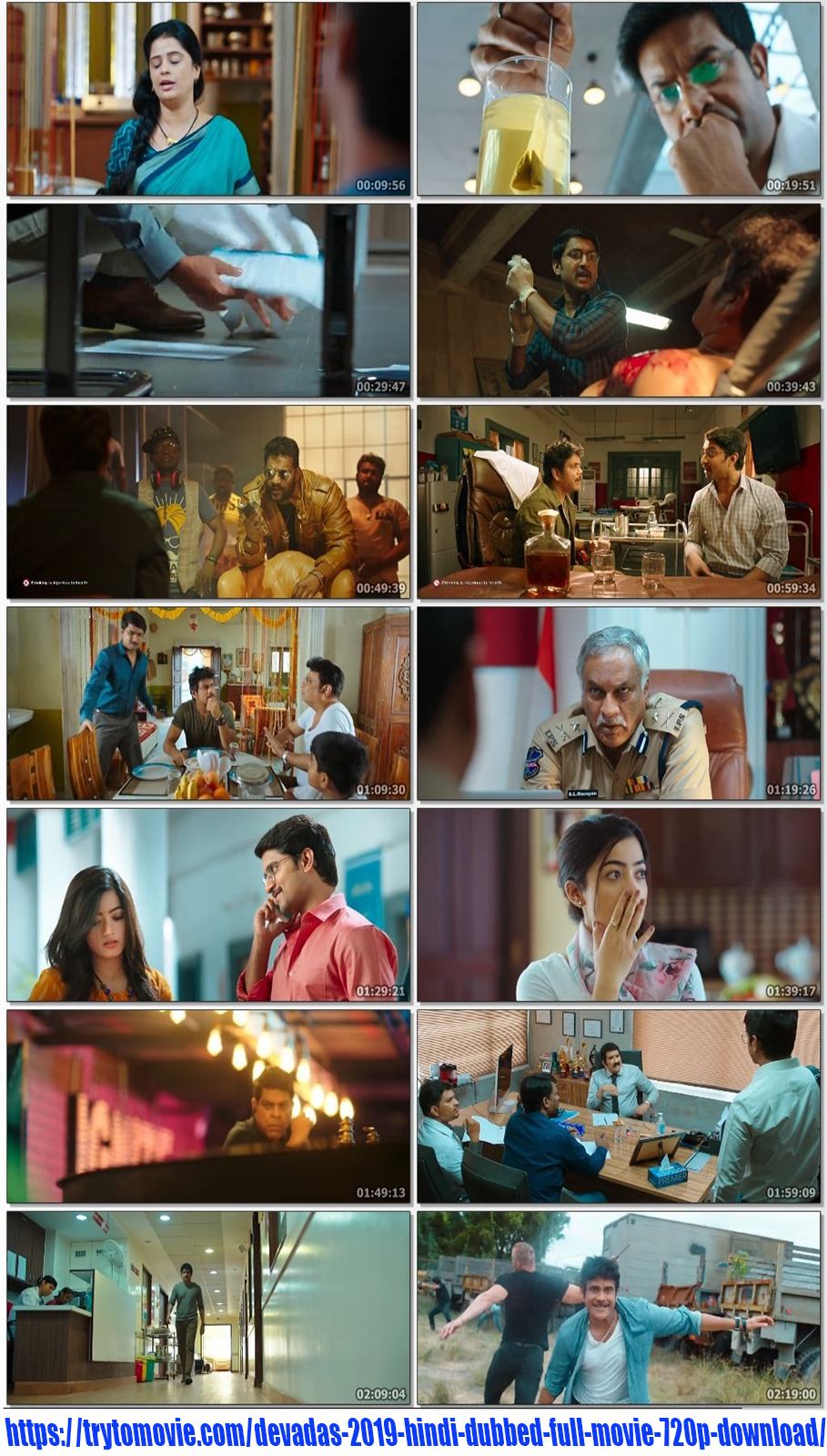 Devadas 2019 Hindi Dubbed Full Movie 720p Download