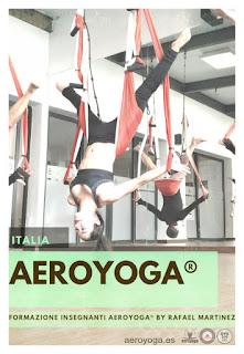 FORMAZIONE INSEGNANTI AEROYOGA® BY RAFAEL MARTINEZ, ITALIA,