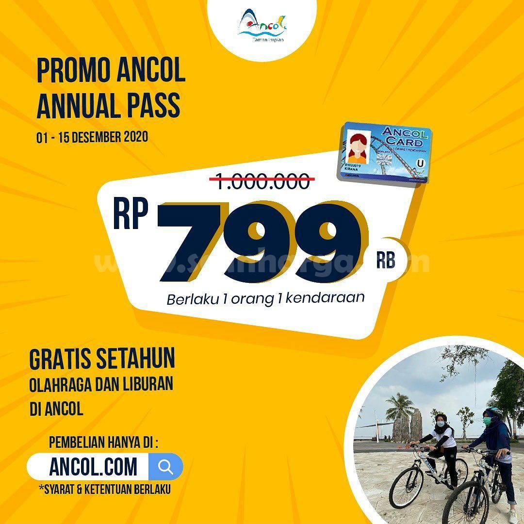 ANCOL Promo Annual Pass - Harga Spesial hanya Rp 799.000