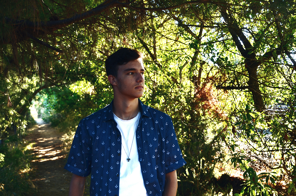 Oscar Cobo photoshoot life style in summer