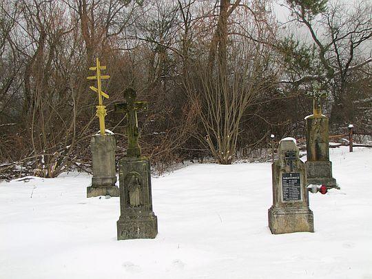 Cmentarz łemkowski we wsi Długie.
