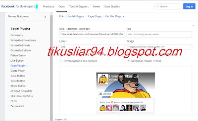 Cara Menambahkan Widget Side Bar Fans Page Facebook Tanpa Mengurangi Score SEO