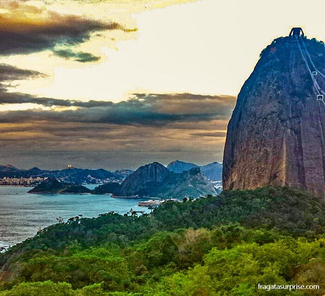 As montanhas do Rio vistas do Morro da Urca