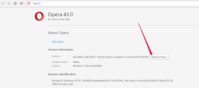 relaunch opera web browser