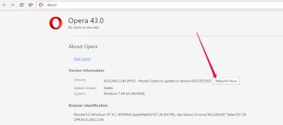 relaunch opera web browser