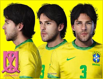 PES 2021 Faces Juninho Pernambucano by Uqiya
