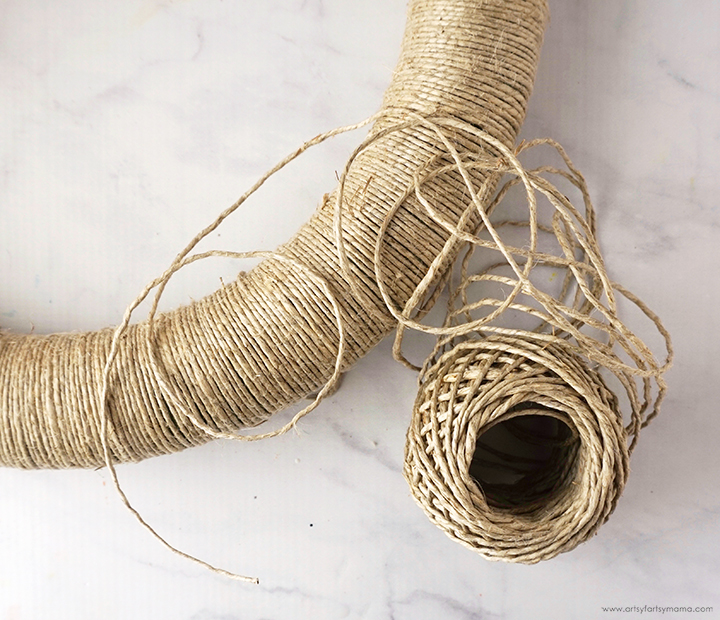 Fall Wreath Hemp Twine