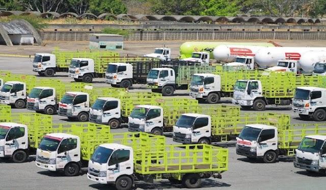 En Carabobo Desplegadas nuevas plantas móviles de gas para procesar 25 mil cilindros diarios