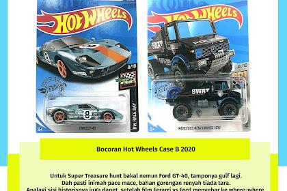 Bocoran Hot Wheels Case B 2020