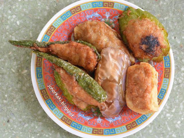 Johor-Kulai-Lei-Cha-Fan-古來21哩大樹下擂茶
