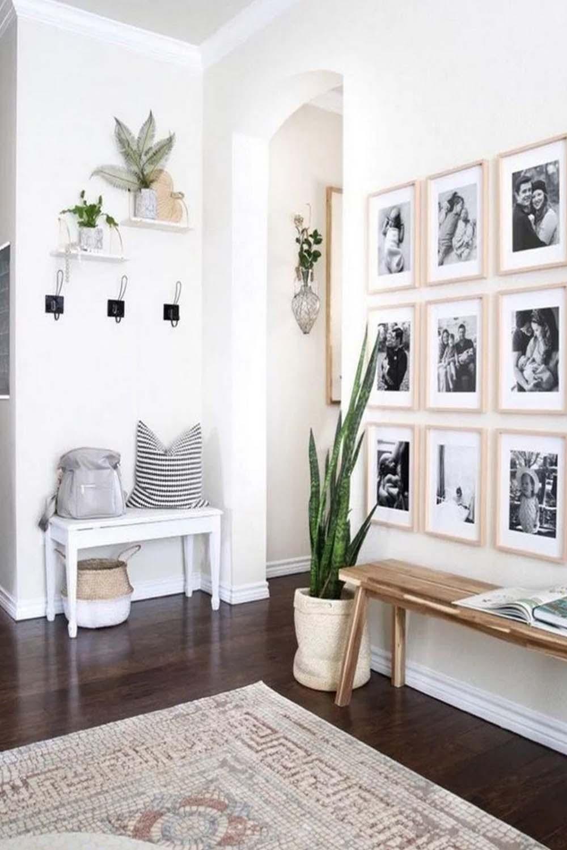 modern farmhouse living room curtains