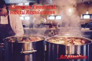 Status of Food Safety Regulations- Scenario in Pakistan