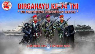 Tidak hanya hari ulang tahun ini tetapi setiap hari KATA UCAPAN SELAMAT HARI TNI