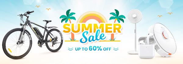 Promoção de Verão na Geekbuying