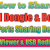 How to share Usb Port All Type Box Dongle Support with Usb Redirector & teamviewer