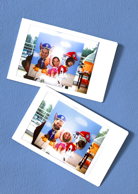 Paw Patrol Party, Polaroid photos