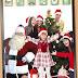 saludo navideño con tu foto y Santa Claus