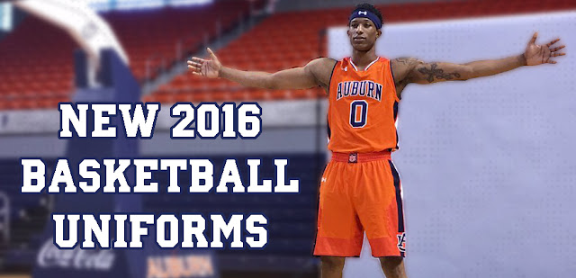 2016 auburn basketball uniforms