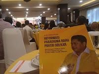 Diskusi, Ultah Kosgoro 57, Ridwan Hisjam Perkenalkan Buku Reformasi Paradigma Baru Partai Golkar