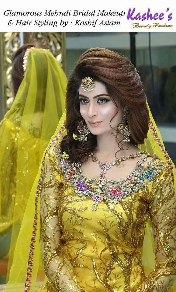 Mehndi Day Hairstyles : Bridal kashee s mehndi day hairstyles in pakistan