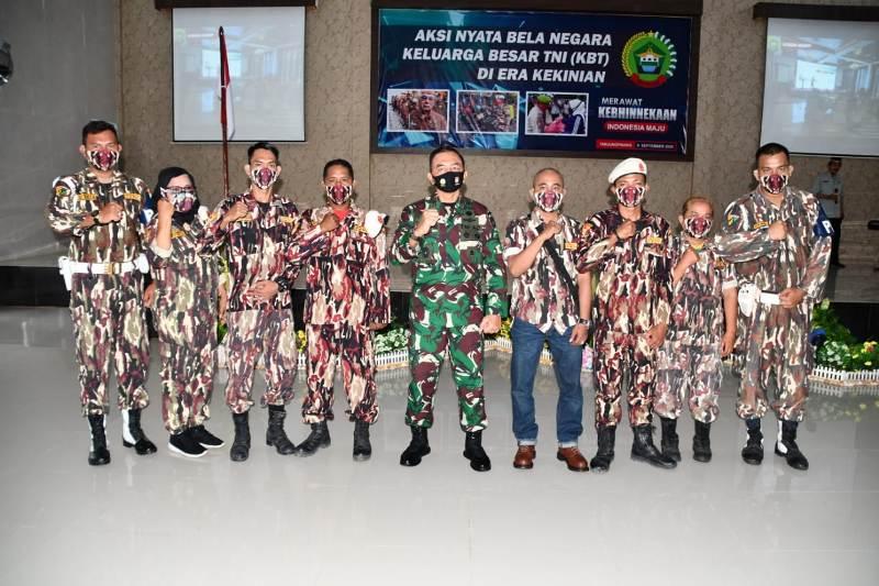 Korem 033/WP Kembali Menggelar Komsos Dengan Keluarga Besar TNI