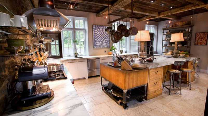 30 stylish modern industrial kitchen interior designs for Industrial modern kitchen designs