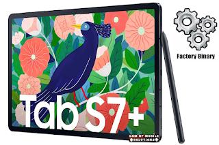 Samsung SM-T975 Combination File Galaxy Tab S7+ Free
