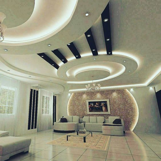 Modern Apartment Bedroom Ideas Bedroom Gypsum Ceiling Designs Bedroom With Accent Wall Bedroom Colours That Go With Red: Modern Ceiling Gypsum Decoration ديكور ساحر لجبس السقف