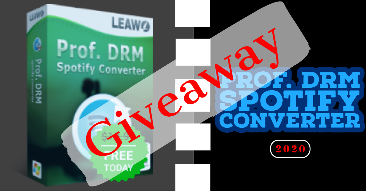 Giveaway: Leawo Prof. DRM Spotify Music Converter