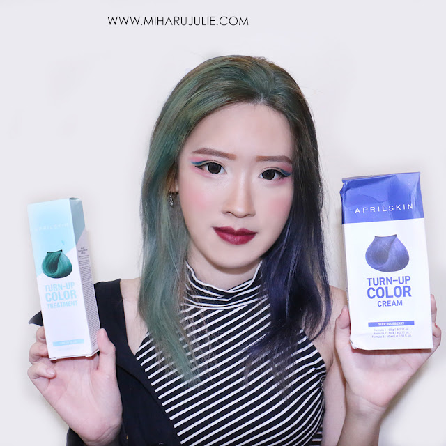 April Skin Turn Up Colour Treatment Hair Dye Review