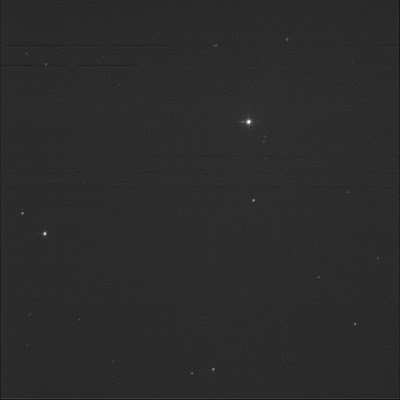 double star 11 LMi in luminance
