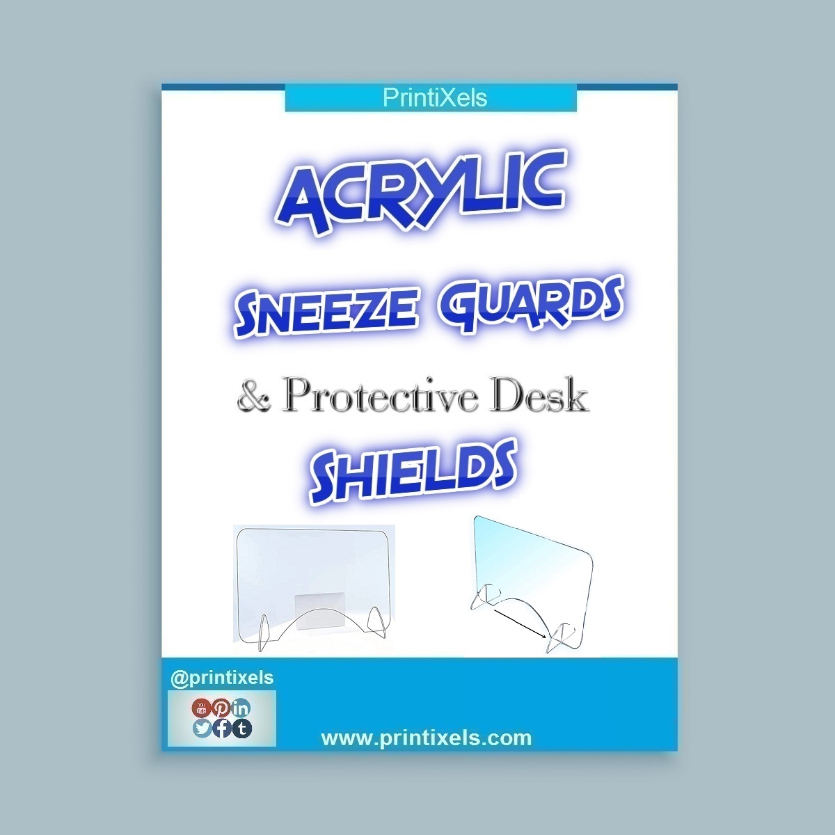 Acrylic Sneeze Guards & Protective Desk Shields Philippines