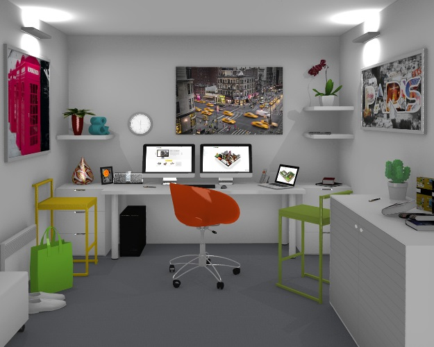 22 wonderful office furniture design software for Free office design software
