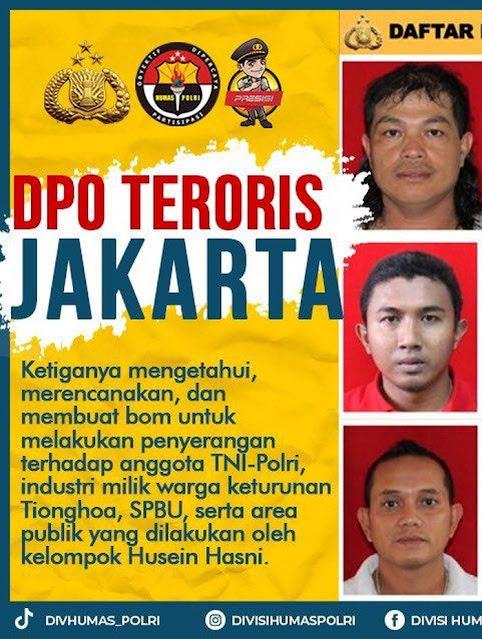 Berikut daftar lengkap ketiga orang dalam DPO