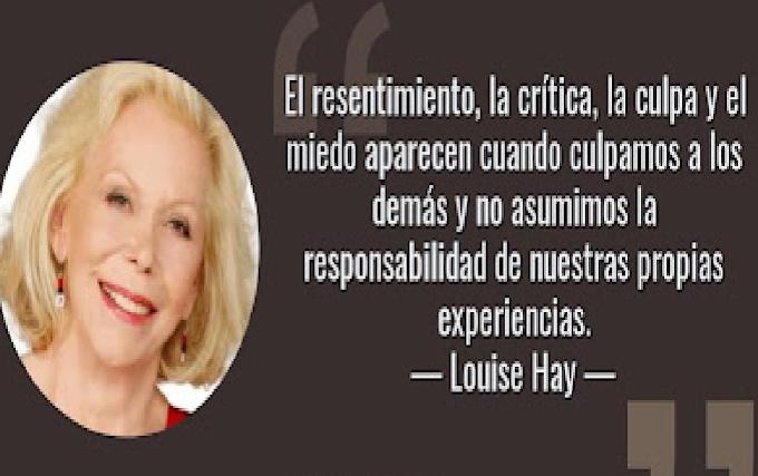 LAS MEJORES FRASES DE LOUISE HAY