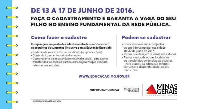 Cadastro Escolar 2017