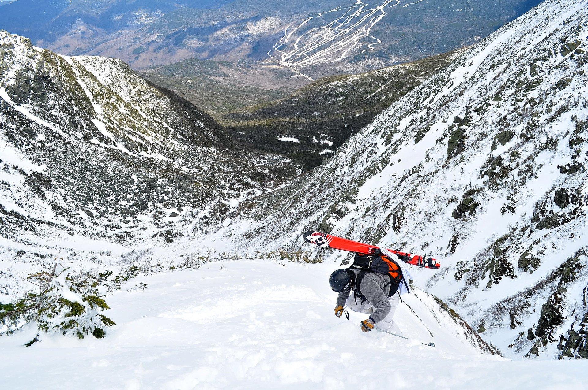 Skiing in Appalachian Mountains