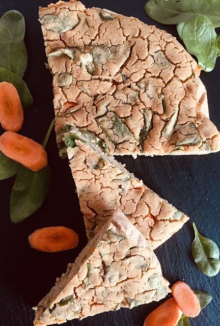 Gemüse-Pfannkuchen, Rezept glutenfrei & vegan, Minimalismus: Zubereitung einfach + schnell, Healthy Food Style, Blog, Rezeptinspirationen für jeden Tag, gesund und lecker, Rezeptideen, schnelle Rezepte, entdecken, leicht