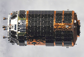 Image Attribute: A file photo of the unpiloted Japanese H-II Transfer Vehicle (HTV) approaches the International Space Station. / Source: ISS020-E-041380, ISS Expedition 20, NASA/Wikipedia (Dated: September 17, 2009)