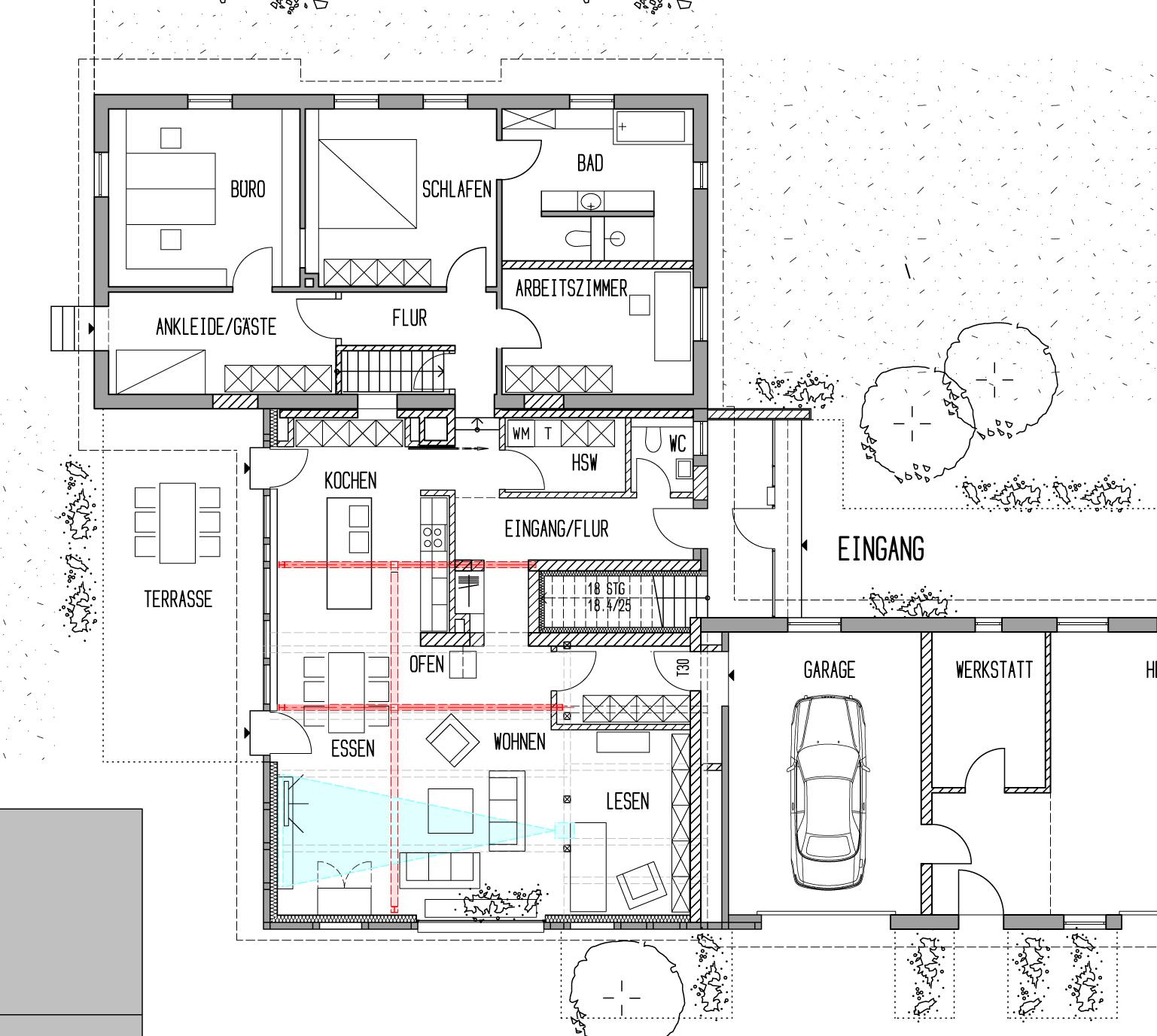 adk 192 offene r ume so soll es werden. Black Bedroom Furniture Sets. Home Design Ideas