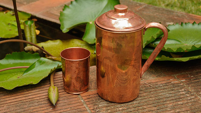 copper jug water benefits in hindi