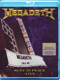 Megadeth: Rust in Peace Live [BD25]